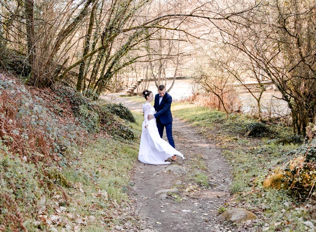 Séance mariage à mortagne sur sèvre