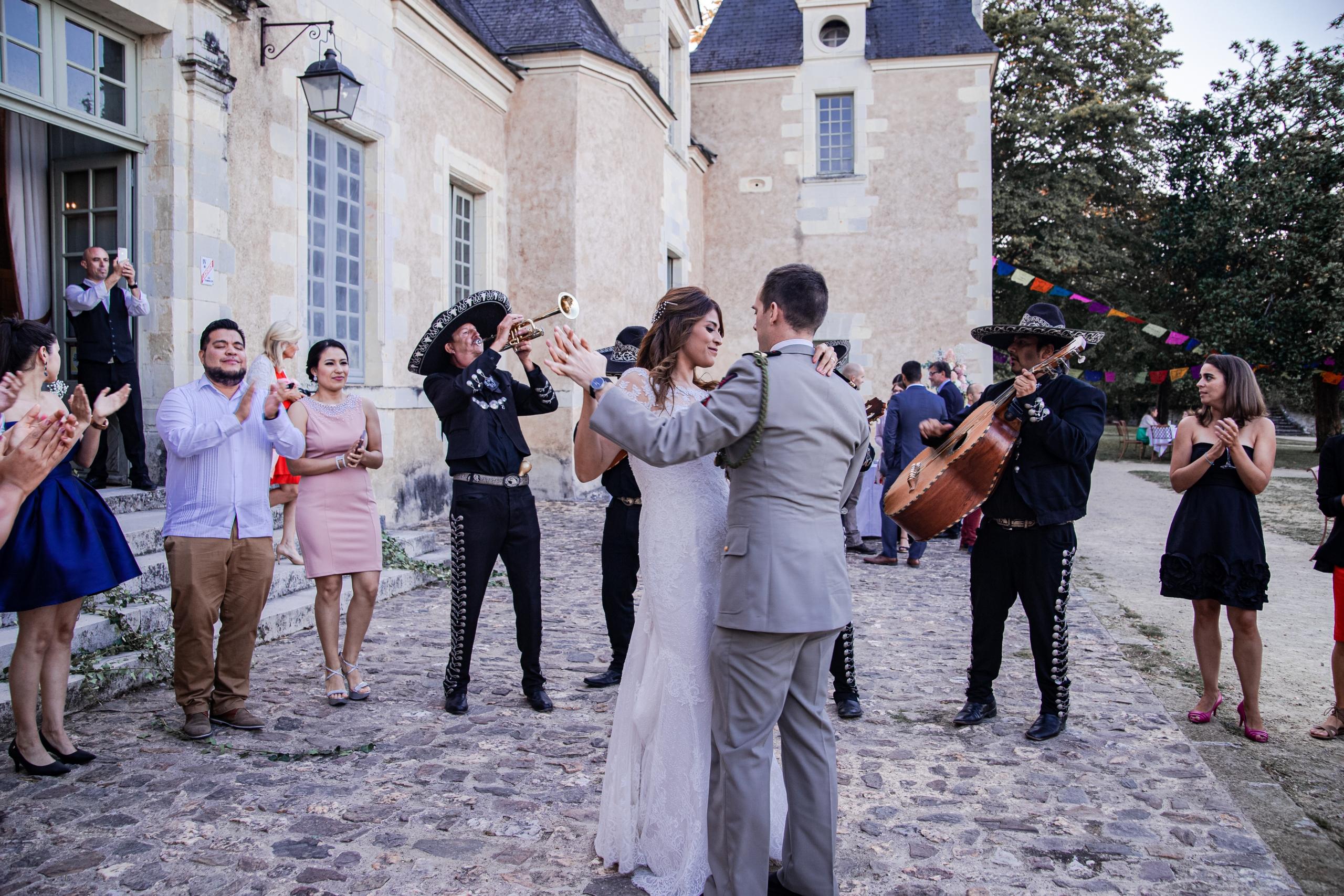 Mariage au chateau de la Perrière à Angers
